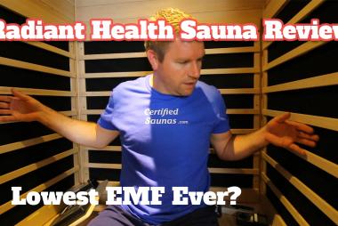 Radiant Health Saunas - Lowest EMF Ever FIR